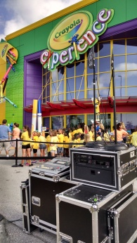 Crayola Experience Ribbon Cutting Jul 2015 1